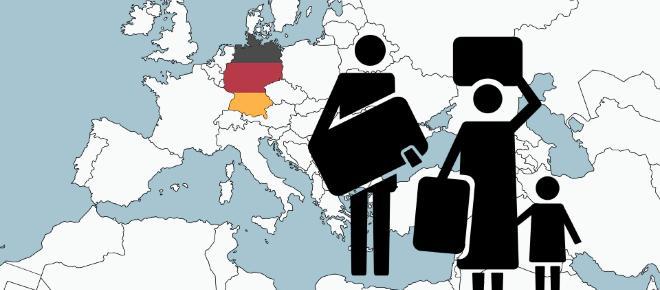 Deutschland in Zahlen: Eine halbe Million Zuwachs an Einwanderern
