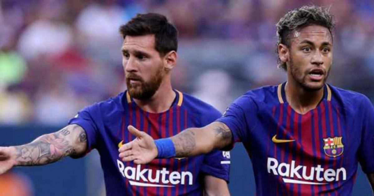 Chamada de Messi para Neymar muda tudo - e no Barcelona ...