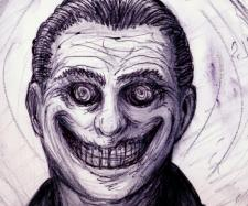 Der lachende Mann am Fenster. Quelle: Creepypasta/Wikimedia
