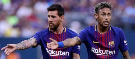 Leo Messi e Neymar continuam muito amigos