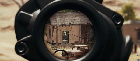 Previous scope in 'PUBG' [Image via Cindy Liu]