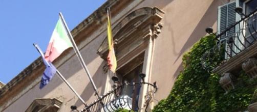 Agrigento, Palazzo dei Giganti, sede del Comune.