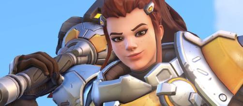 Brigitte revealed as 'Overwatch's' latest hero. [image source: Muselk/YouTube screenshot]
