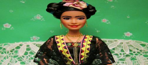 Frida Kahlo is a Barbie doll by Mattel flickr.org