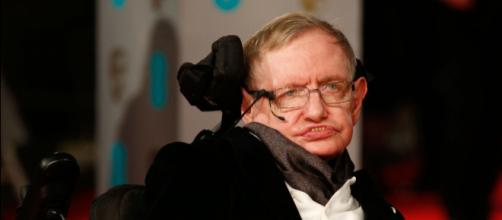 Hawking durante un acto en Londres en 2015