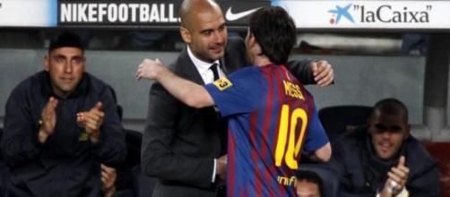 Leo Messi trabalhou com Guardiola
