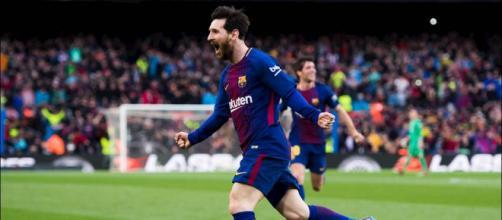 Lionel Messi, autore di una doppietta contro il Chelsea - fonte: fantagazzetta.com