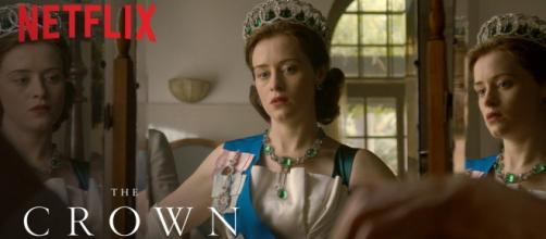 Netflix's The Crown has been paying its leading actress less than the leading star playing the prince. Photo Credit: YouTube/Netflix