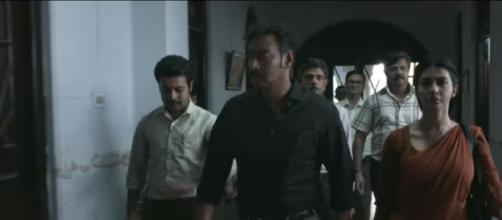 Raid | Official Trailer | Ajay Devgn | Ileana D'Cruz | Raj Kumar Gupta | - Image credit- T-Series YouTube