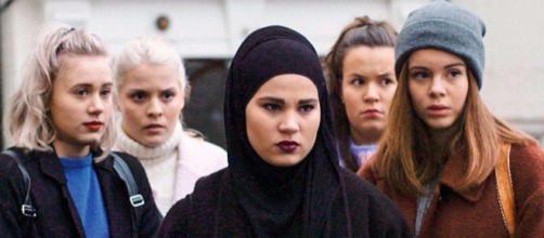 Reparto femenino de SKAM, serie emitida por la NRK