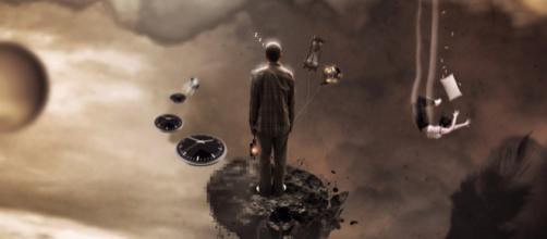 Representación de un hombre que está dentro de un sueño