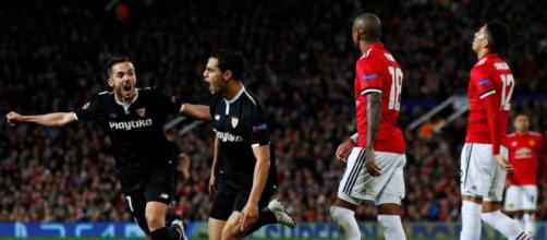 Sevilla elimina al Manchester en Old Trafford   Revista Estadio - estadio.ec