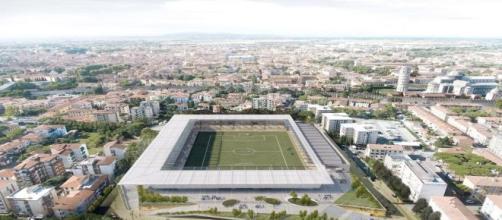 Stadio di Pisa, come dovrebbe diventare la nuova Arena Garibaldi