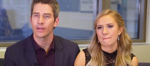 Arie Luyendyk Jr and Lauren Burnham / The Hollywood Reporter YouTube Channel