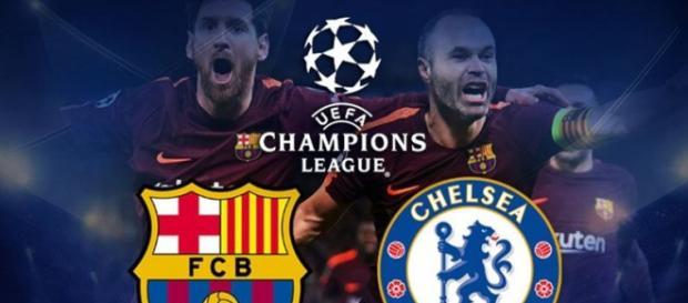 Barcelona x Chelsea ao vivo nesta quarta