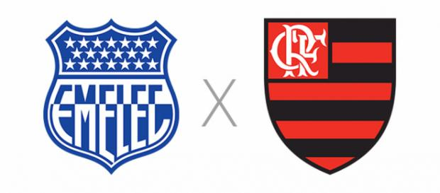 Emelec e Flamengo se reencontram em partida pela Libertadores, dessa vez no Equador. (foto reprodução)