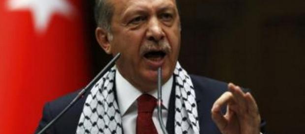 Erdogan może niedługo ogłosić sukces operacji Gałązka oliwna (fot. jpost.com)