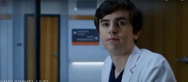"Freddie Highmore described why ""The Good Doctor"" goes right to the heart of the human condition while in Australia. Screenshot TVpromos/YouTube"
