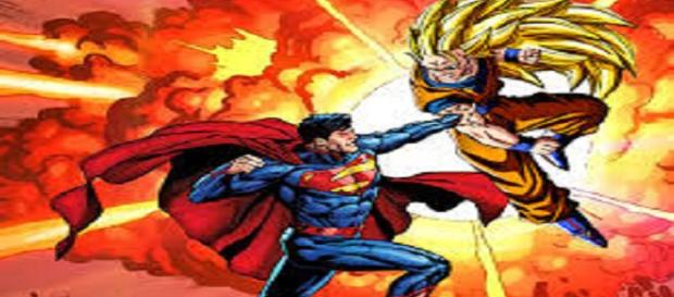 Goku Vs Superman. ¡La batalla!