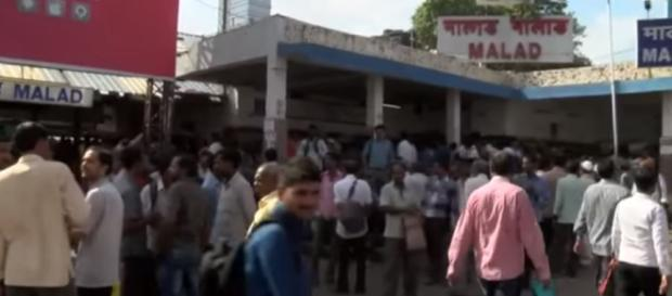 Unemployed construction workers in India - Image credit - BBC | YouTube
