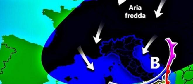 Burian 2, gli esperti si dividono: scintille web e proiezioni meteo Italia