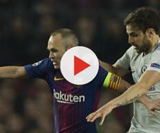 Andres Iniesta regressou contra o Chelsea