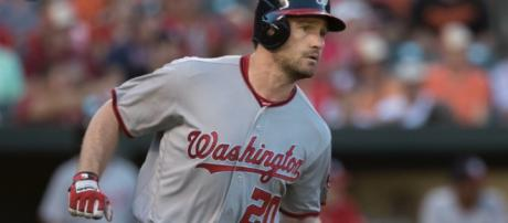 Daniel Murphy was the National League batting champ in 2016. Image Source: Flickr   Keith Allison
