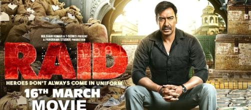 A still from the movie Raid which released on 16th March(Image credit -T-Series | YouTube)