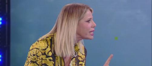 Alessia Marcuzzi lite furibonda con Eva Henger in diretta tv - zazoom.it