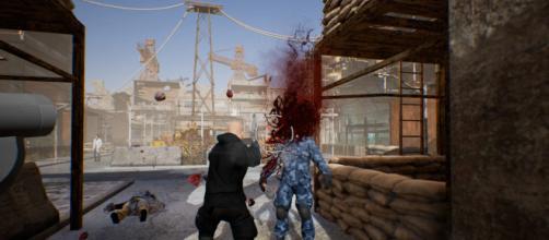 Bloody gun battles in 'POSTWORLD' [Credit: Twitter/Postworldgame]