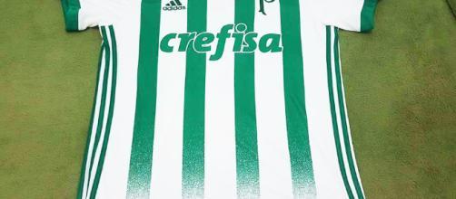 Camisa do Palmeiras lançada pela adidas em 2017