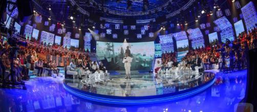 El plató de Supervivientes en Telecinco.