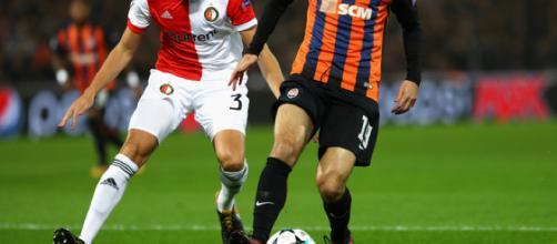 Facundo Ferreyra in Feyenoord v Shakhtar Donetsk - UEFA Champions ... - zimbio.com