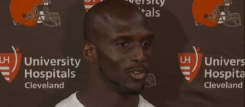 Jason McCourty is a nine-year NFL veteran (Image Credit: Cleveland Browns/YouTube)