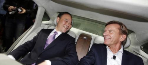 Li Shufu, patron del colosso auto cineses Geely - com.tw