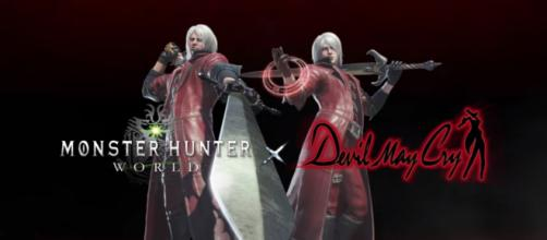 Monster Hunter: World - Devil May Cry Collaboration [Image Credit: Monster Hunter/YouTube screencap]