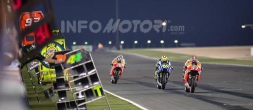 MotoGp Qatar in Tv su Sky e Tv8