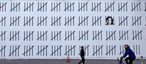 Bansky entra nell'olimpo dell'arte contemporanea