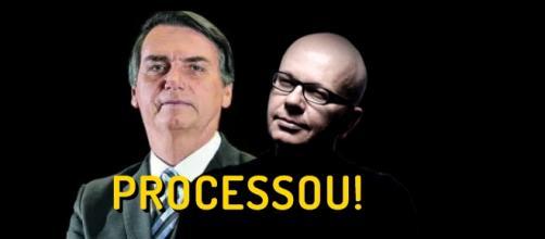 O Deputado Federal processou Marcelo Tas por danos morais
