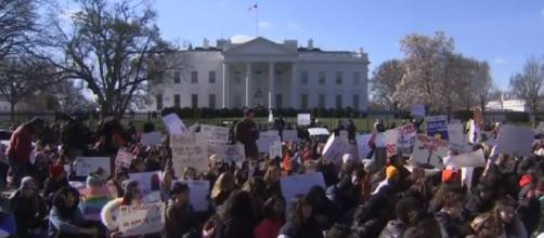 Thousands Of Students & Teachers Protest Gun Violence In The US | Image credit - TIME | YouTube