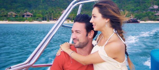 Bachelor Daniel Völz und seine Kristina stellten sich live den Fragen der Fans - Foto: MG RTL D