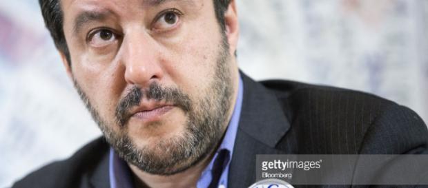 Fotos e imágenes de The League Leader Matteo Salvini Speaks At The ... - gettyimages.es