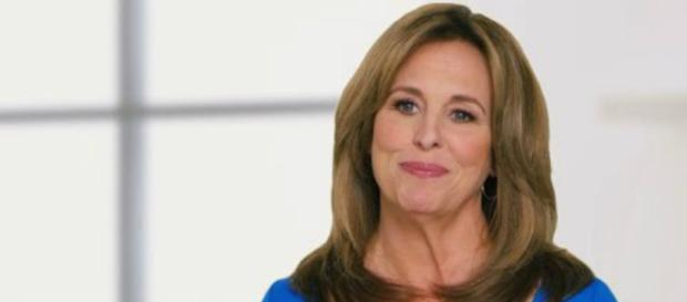 Genie Francis says Frank Valentini fought hard to bring Laura back. Image by YouTube/Entertainment Tonight