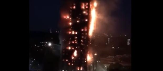 Grenfell Tower: Massive Building Fire In London! - (Compilation) - Image credit - Just Gone Viral | Youtube
