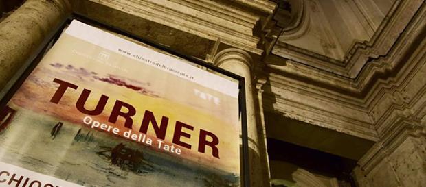 Mostra 'TURNER. Opere della Tate' al Chiostro del Bramante