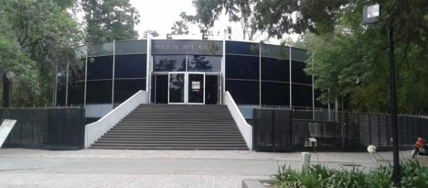 Museo de Arte Moderno. Instalaciones y Jardín - blogspot.com