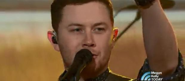 Scotty McCreery sings his new hit and explains the message behind 'Five More Minutes.' [image source: MegynKellyTODAY/YouTube screenshot]