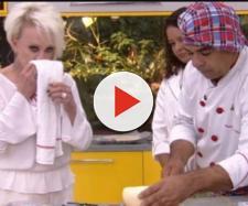 Após limpar nariz com pano de prato, Ana Maria faz pedido polêmico a funcionário. (foto reprodução).