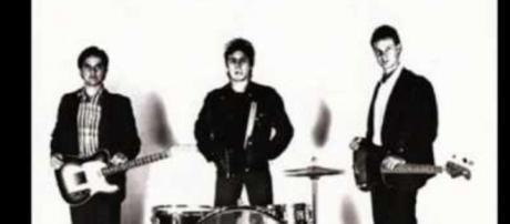 Charlie Quintana, drummer for the Plugz. - [Image Courtesy Restless records]