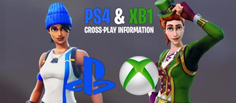 """""""Fortnite"""": PlayStation 4 and Xbox One cross-play update. Image Credit: Own work"""